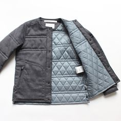 White Mountaineering (ホワイトマウンテニアリング)  WOOL TWILL QUILTING JACKET