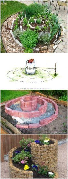 9. Build an Herb Spiral