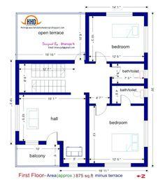 3 bedroom house plans 1200 sq ft indian style homeminimalis com 1200sq Ft House Plans, 20x30 House Plans, 2bhk House Plan, Unique House Plans, 2 Bedroom House Plans, Indian House Plans, Duplex House Plans, House Layout Plans, Duplex House Design