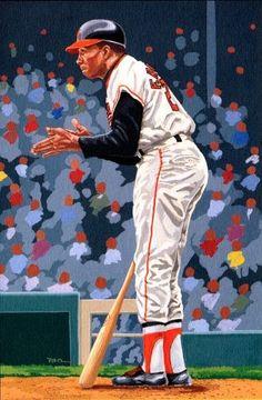 Frank Robinson by Dick Perez