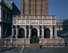 Jacopo Sansovino - Logetta del campanile de la plaza de San Marcos (Venecia, 1537 - 49)