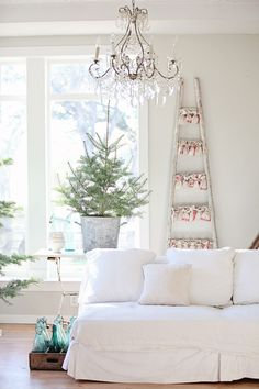 Decoração branca para um Natal minimalista | Eu Decoro
