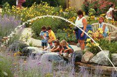 MSU 4-H Children's Garden. From a secret garden maze to Peter Rabbits Garden. Check out the pizza garden with oregano, basil, tomato plants and more!