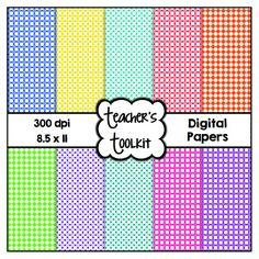 $ #Hexagon Patterned #Digital #Papers {8.5 x 11} #Clip Art Cu OK
