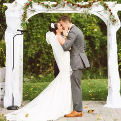 "@brookemichellej ""A lot of people's favorite part of the ceremony is the first kiss, but not me. My favorite part is immediately after the first kiss when the bride and…"""
