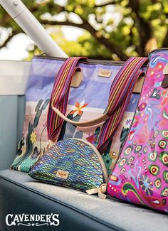 Pack in style with a variety of Consuela bags from Cavender's!