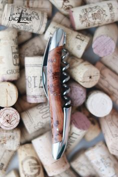 Our original Forge de Laguiole® Sommelier knife with a thuya wood handle and shiny finish. Our authentic Sommelier knife was produced in collaboration with professional Sommeliers and thus gives it its ergonomics, elegance and efficiency.   #wine #sommelier #sommelierknife #winelovers #finewine #giftideas #giftsformen #redwine #whitewine #laguiole #laguioleknife #knife #waiter #waiterknife #forgedelaguiole #handmade #madeinfrance #worldcuisine #drinks #frenchwine #thuyawood #thuya