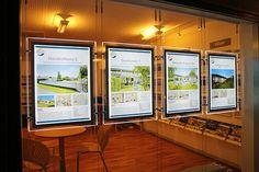 ARKIFURN A/S er etableret i 1982, en stor del af vores omsætning ligger i at indrette ejendomsmæglere og banker over hele landet, samt Norge, Sverige, Tyskland og Frankrig med LED displays og kontormøbler.  Vi leverer totalindretning af butikker, og det er en fordel når ejendomsmæglerne skal renovere eller indrette en ny butik så er der kun en de skal kontakte.
