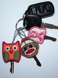 Key Covers Set, 4x4 - 22 Designs! | In the Hoop | Machine Embroidery Designs | SWAKembroidery.com