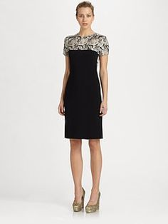 Stella McCartney - Lace Print Dress