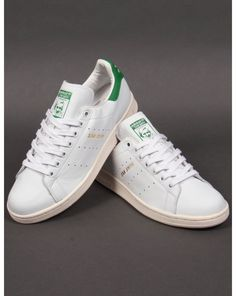 Adidas Originals Stan Smith Trainers in White   Green (Gold Print) (UK  Sizes) 0eb7e0a1bb5f