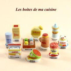 【フェーブ】LES BOITES DE MA CUISINE 私のキッチン・ボックス 10個 - NORDIA 2009年 (S)