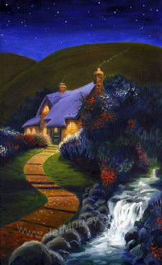 'The House of Tom Bombadil' by Jef Murray. Poor Tom never made it to the movies..