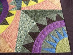 Great quilting on New York Beauty!