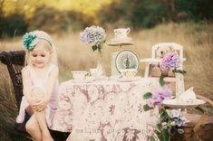 VINTAGE TEA PARTY | Kim Mallory Child Photographer, Chilliwack, BC | Kim Mallory Fraser Valley Photographer