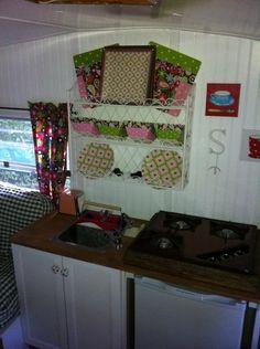 """""""Chitty Chitty Bang Bang"""" camper rehab...Kitchen"""