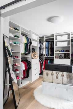 Walk in closet - a renovation by Madeleine Design Group in Delta, BC Walk In Closet, This Is Us, Group, Interior Design, Places, Projects, Home Decor, Madeleine, Nest Design