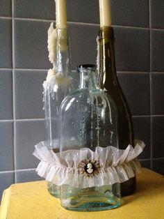 sweet bridal vignette garter • $22 on etsy • wedding accessories