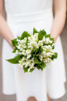 Bridal flowers: lily of the valley // HARRY-MARX.com  #Maiglöckchen #Maiglöckchenstrauss #lilyofthevalley #bridalbouquet