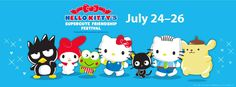 Hello Kitty's Supercute Friendship Festival at ShoWare Center in Kent, Washington on July 24-26 2015 - Seattle Festivals Events Calendar - The Stranger