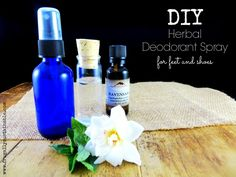 Home Remedies for Foot Odor :: A DIY Deodorant Spray for Stinky Feet and Shoes