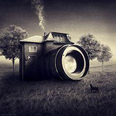 Gallery: Photoshop Art From Sarolta Bán | Practical Photoshop