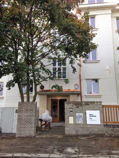 Prague's apartment House in Dejvice Prague Apartment, Garage Doors, Lost, Exterior, Outdoor Decor, Inspiration, Design, Home Decor, Biblical Inspiration