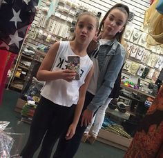 Mackenzie and Kendall taking a mirror selfie 1st May 2015!