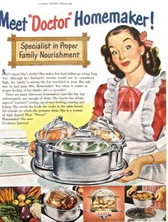 1950s Vintage Homemaker Advertisement GUARDIAN COOKWARE Magazine Print Ad Housewife Cooking Retro Kitchen Wall Decor Ads