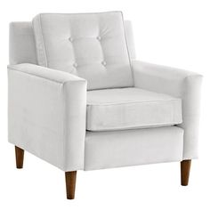 I pinned this Aldous Club Chair in White from the Lily & Oxford event at Joss and Main!