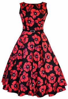 LADY VINTAGE AUDREY HEPBURN DRESS $70