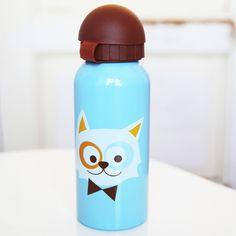 Drinkfles Cat Blue van Blafre