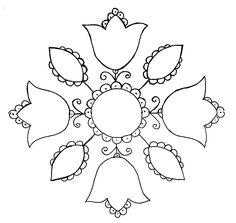 Moja nowa miłość - haft ze Schwalm.  Niewiele wiem na temat tej techniki haftu, ale mam nadzieję zebrać wszystkie dostępne informacje na te...