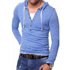 new arrival aa646 d0f25 Men s Long Sleeve Hoodies