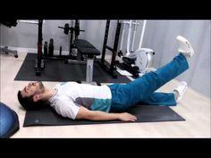 Ejercicios hernia discal lumbar sub- aguda dolorosa - YouTube Ejercicios  Para Hernia Discal 30ddb9cc2ed5