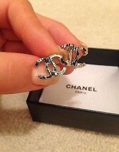 Chanel Authentic Chanel Clip earrings Bought in UK with original receipt and packaging