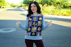 DIY Transform Your Classical Sweat Shirt Into A Fashionable Sweater | DIY Fashion List