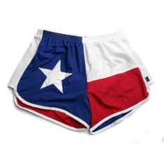 An awesome new trend, Texas flag shorts are a must have to beat this summer heat!