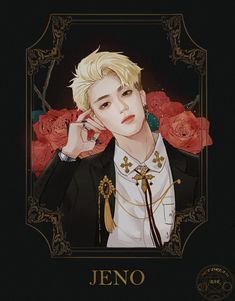 """""""fan art by NCTDREAM BAR 茜子 ⚠️Please do not🚫re-upload and no🚫re-editing in any forms. Kpop Drawings, Jeno Nct, Illustration, Fanarts Anime, Kpop Fanart, Extended Play, Taeyong, K Idols, Jaehyun"""