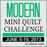 Looking forward to the Modern Mini Quilt Challenge Mathis (Ellison Lane Quilts) ! Circle Quilt Patterns, Jelly Roll Quilt Patterns, Circle Quilts, Mug Rug Patterns, Modern Quilt Patterns, Quilt Patterns Free, Mini Quilts, Quilt Blocks, Quilt Modern
