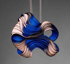 ( Frozen movements )  beautiful pendants of German artist Lydia Hirte