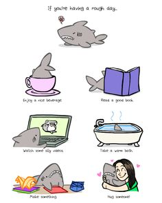 This post isn't a cute cat. This is a cute shark. It *is* a cute shark~! Cute Comics, Funny Comics, Theodd1sout Comics, Tom Und Jerry Cartoon, Frank Zander, Funny Cute, Hilarious, Funny Animals, Cute Animals