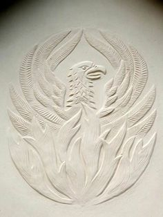 Pargeting by Joe Pattison - Mythical Beasts in decorative plasterwork