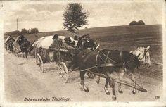 Ostpreußische Flüchtlinge. 1915