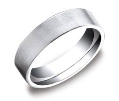 Men`s Platinum 6mm Flat Comfort Fit Wedding Ring Band Featuring an Elegant Soft Satin Finish for only $1,459.00 You save: $1,263.75 (46%)