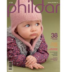Phildar 54 - Les tricots de Loulou - Picasa Web Albums Knitting Books, Crochet Books, Knitting For Kids, Lace Knitting, Crochet For Kids, Knit Crochet, Knitting Magazine, Crochet Magazine, Baby Cardigan