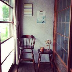 The glass windows Japan Interior, Room Interior, Interior Design, Japanese Style House, Traditional Japanese House, Eclectic Design, Image House, Cozy House, Interior Inspiration
