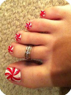@Corrie Newton Gonzalez LOOK! White Stripe toes :) I want!