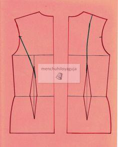 Cómo trazar el cuerpo del traje de flamenca