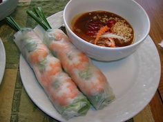 Goi Cuon (Vietnamese Salad Roll) - A Multi-flavor dish | About #vietnam  #food #goicuon